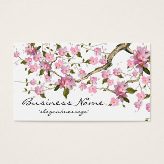 Visitenkarte des Kirschblüten-Baumast-2