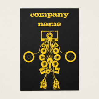 Visitenkarte Music Company - besonders angefertigt