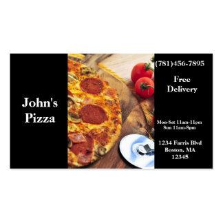 Visitenkarte-Pizza-Restaurant Visitenkarten