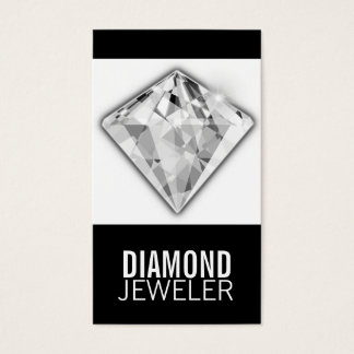 Visitenkarte-Schablonen-Diamant Visitenkarten