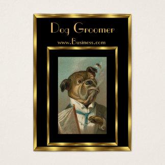 Visitenkarte-Vintage HundeGroomers 2 Visitenkarte