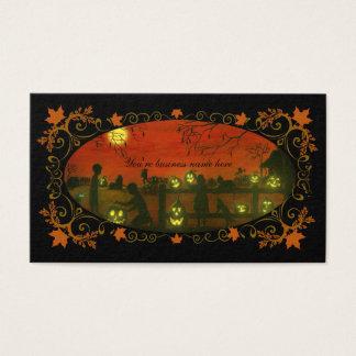 Visitenkarten Halloweens themenorientierte