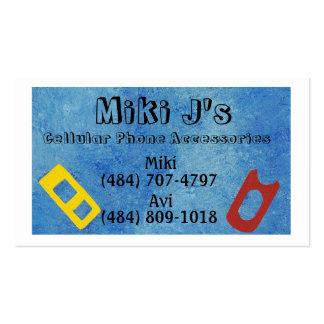 Visitenkarten - Mobiltelefon-Zusätze