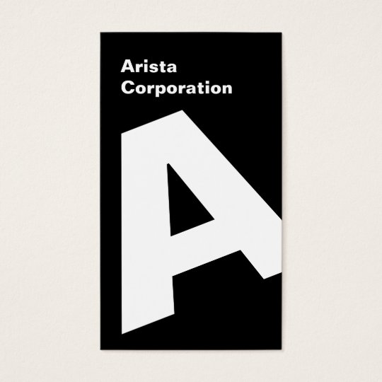 Visitenkarten Modern Vertical Company