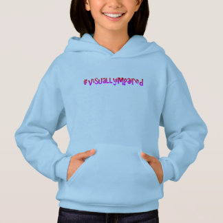 #visuallyimpaired Hoodie durch Dal