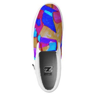 Visuelle Künste Slip-On Sneaker