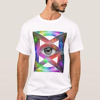 Visuelle Muster T-Shirt
