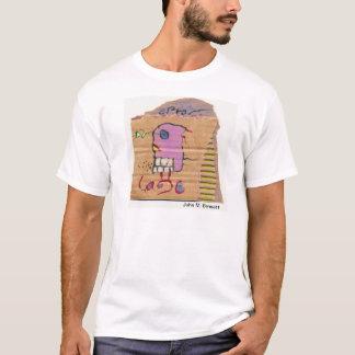 Visuelle Poesie durch John M. Bennett T-Shirt
