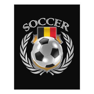 Vitesse de fan du football 2016 de la Belgique Prospectus 21,6 Cm X 24,94 Cm