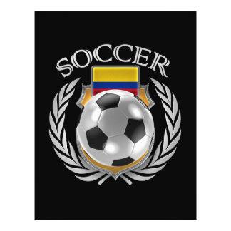 Vitesse de fan du football 2016 de la Colombie Prospectus 21,6 Cm X 24,94 Cm