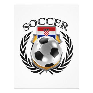 Vitesse de fan du football 2016 de la Croatie Prospectus 21,6 Cm X 24,94 Cm