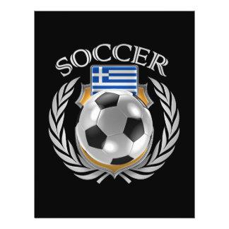 Vitesse de fan du football 2016 de la Grèce Prospectus 21,6 Cm X 24,94 Cm