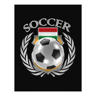 Vitesse de fan du football 2016 de la Hongrie Prospectus 21,6 Cm X 24,94 Cm