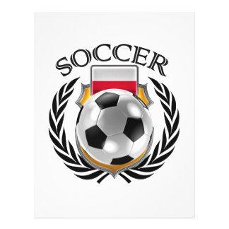 Vitesse de fan du football 2016 de la Pologne Prospectus 21,6 Cm X 24,94 Cm