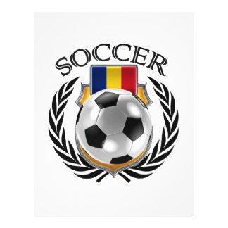 Vitesse de fan du football 2016 de la Roumanie Prospectus 21,6 Cm X 24,94 Cm