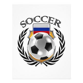 Vitesse de fan du football 2016 de la Russie Prospectus 21,6 Cm X 24,94 Cm
