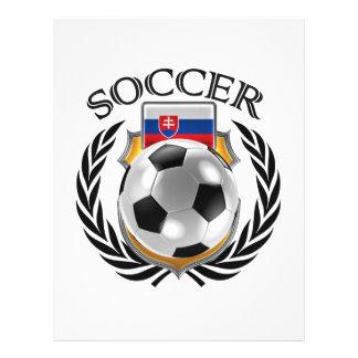 Vitesse de fan du football 2016 de la Slovaquie Prospectus 21,6 Cm X 24,94 Cm
