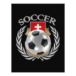 Vitesse de fan du football 2016 de la Suisse Prospectus 21,6 Cm X 24,94 Cm
