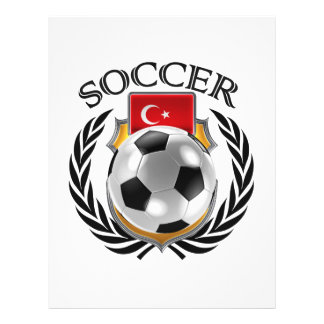 Vitesse de fan du football 2016 de la Turquie Prospectus 21,6 Cm X 24,94 Cm