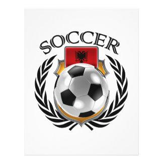 Vitesse de fan du football 2016 de l'Albanie Prospectus 21,6 Cm X 24,94 Cm