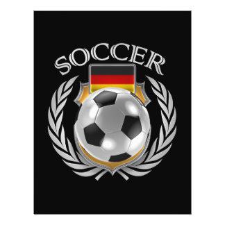 Vitesse de fan du football 2016 de l'Allemagne Prospectus 21,6 Cm X 24,94 Cm