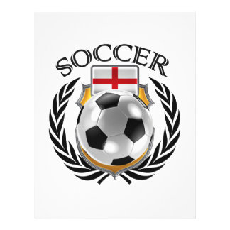 Vitesse de fan du football 2016 de l'Angleterre Prospectus 21,6 Cm X 24,94 Cm