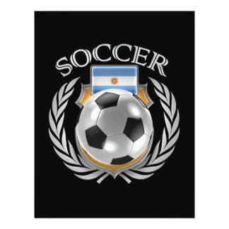 Vitesse de fan du football 2016 de l'Argentine Prospectus 21,6 Cm X 24,94 Cm