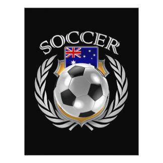 Vitesse de fan du football 2016 de l'Australie Prospectus 21,6 Cm X 24,94 Cm