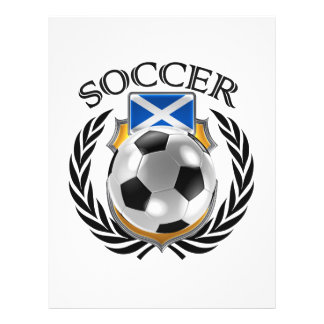 Vitesse de fan du football 2016 de l'Ecosse Prospectus 21,6 Cm X 24,94 Cm