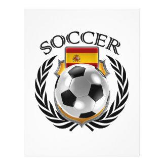 Vitesse de fan du football 2016 de l'Espagne Prospectus 21,6 Cm X 24,94 Cm