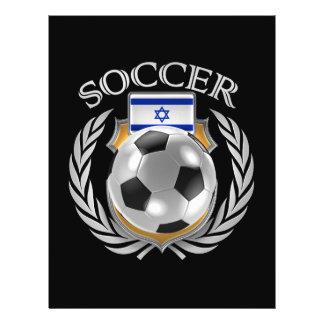 Vitesse de fan du football 2016 de l'Israël Prospectus 21,6 Cm X 24,94 Cm