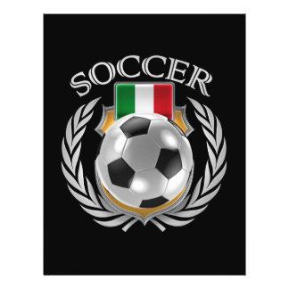 Vitesse de fan du football 2016 de l'Italie Prospectus 21,6 Cm X 24,94 Cm