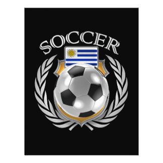Vitesse de fan du football 2016 de l'Uruguay Prospectus 21,6 Cm X 24,94 Cm