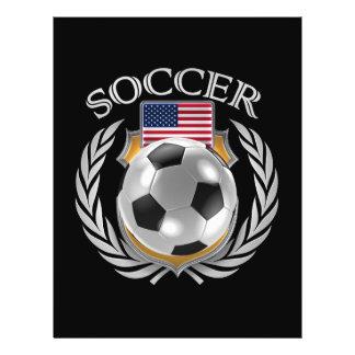 Vitesse de fan du football 2016 des Etats-Unis Prospectus 21,6 Cm X 24,94 Cm