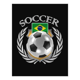 Vitesse de fan du football 2016 du Brésil Prospectus 21,6 Cm X 24,94 Cm