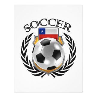 Vitesse de fan du football 2016 du Chili Prospectus 21,6 Cm X 24,94 Cm