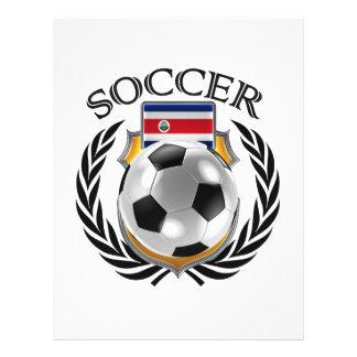 Vitesse de fan du football 2016 du Costa Rica Prospectus 21,6 Cm X 24,94 Cm