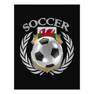 Vitesse de fan du football 2016 du Pays de Galles Prospectus 21,6 Cm X 24,94 Cm