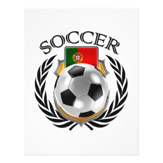 Vitesse de fan du football 2016 du Portugal Prospectus 21,6 Cm X 24,94 Cm