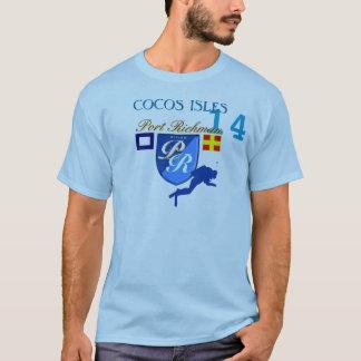 Vitesse de plongée d'îles de Cocos de Richman de T-shirt