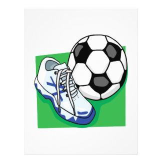 Vitesse du football prospectus en couleur
