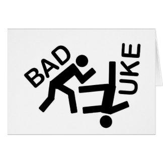 Vitesse orientée de judo carte de vœux