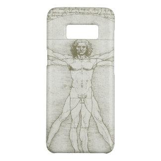 Vitruvian Mann durch Leonardo da Vinci Case-Mate Samsung Galaxy S8 Hülle