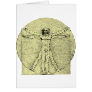 Vitruvian Mann Karte