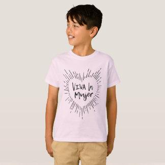 Viva La Mujer scherzt T-Stück T-Shirt