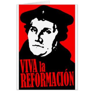 Viva La Reformacion LUTHER Karte