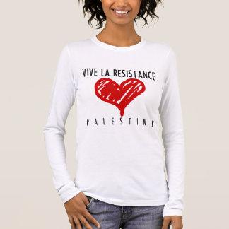 Vive La-Widerstand Langarm T-Shirt