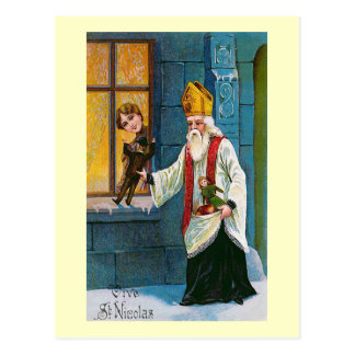 """""""Vive Vintage Franzosen St. Nicolas"""" Postkarte"""