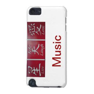 Vivent la musique d'amour de rire coque iPod touch 5G