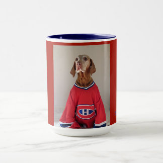 Vizsla Montreal Kanadier-Hockey-Kaffee-Tasse Tasse